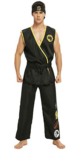 PixieCos Audlt Mens Cobra Cosplay Embroidered Costume Deluxe Uniform