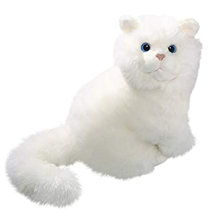 Amazon Com Cat White 12 Inches 30cm Plush Toy Soft Toy Stuffed