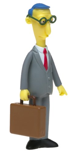 The Simpsons Series 11 Action Figure Blue Haired Lawyer by Playmates