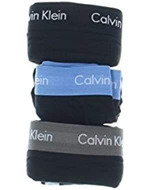 Calvin Klein 3 Pack Cotton Classic Boxer Briefs Black Blue