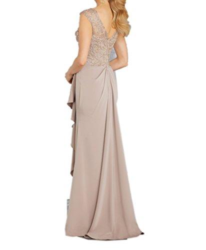 La Lang Abschlussballkleider mia Braut Schmaler Schnitt Champagner Herrlich Etui Weinrot Partykleider Promkleider Abendkleider q1CRZ