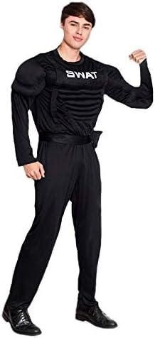 Disfraz Agente Swat Musculoso Hombre (Talla S) (+ Tallas) Carnaval ...