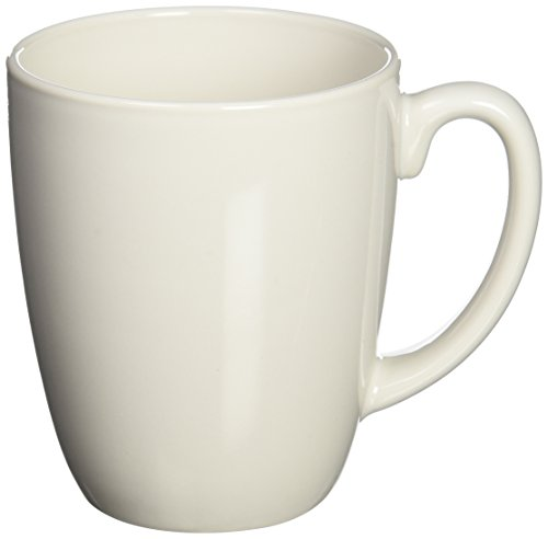 WORLD KITCHEN 6022022 White Mug, (Plain Coffee Mug)
