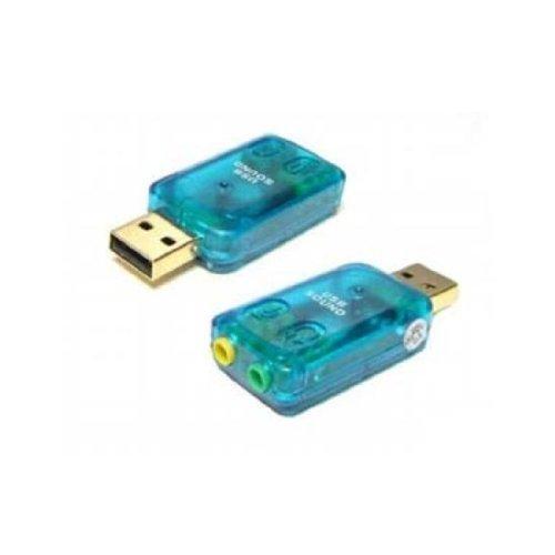 External 5.1 USB 3D Audio Sound Card Adapter for PC Desktop