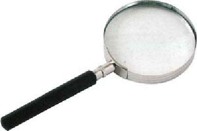 profitec® Lupe, Handlupe, Ø 50mm Leselupe, 5 fache Vergrößerung, Lesehilfe * SC 8050