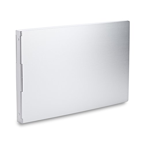 Pina Zangaro Machina Aluminum 3-Ring Binder for 11 x 17 Inch Landscape Sheets, 1-Inch Capacity (36314)
