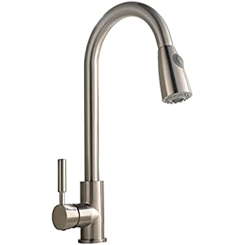 Best Commercial Stainless Steel Single Handle Pull Down Sprayer Kitchen  Faucet, Pull Out Kitchen Faucets