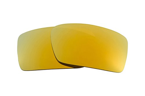 Best SEEK OPTICS Replacement Lenses Oakley GASCAN - Polarized 24K Gold Mirror