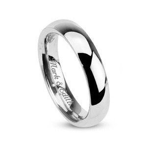 Personalized Women's Sterling Silver Promise Ring Custom ...