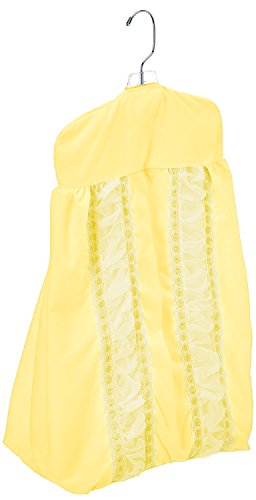 Baby Doll Sweet Touch Baby Crib Diaper Stacker, Yellow