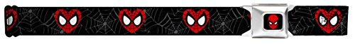 Spiderman Heart Mask Seatbelt Belt