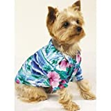 Hawaiian Hound Classi Luau Shirts (Large), My Pet Supplies