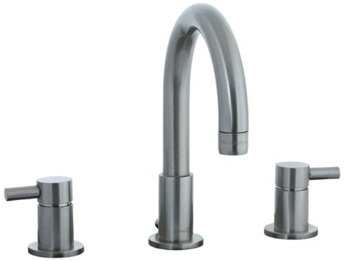 Cifial 221.110.620 Techno Widespread Lavatory Faucet, Satin Nickel