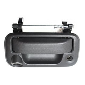FORD F-SUPER DUTY PICKUP 08-12 TAILGATE HANDLE, OUTSIDE, w/ Rear View (Super Duty Pickup Tailgate)