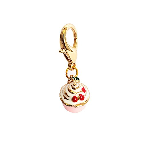 The Dog Squad Clip-On Collar Charms, Pup Cake