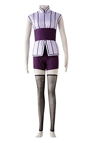 DAZCOS US Size Cotton Movie The Last Hinata Hyuga Cosplay Costume (Women S) -