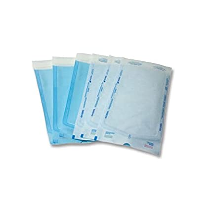 Buste autosigillanti per la sterilizzazione misura 14x25 cm. Ek