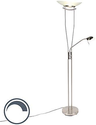 Modern Design Stehlampe SALONE 200cm weiß Stehleuchte Standleuchte Deckenfluter