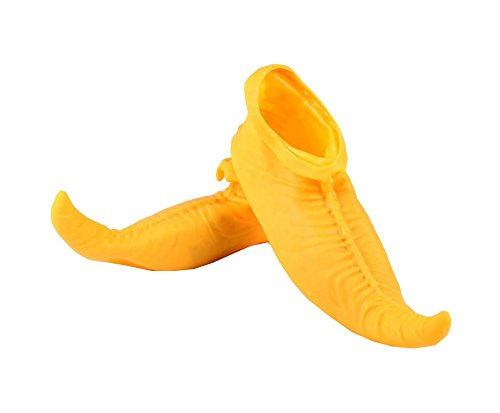 EBTOYS Halloween Clown Shoes Jumbo Large Clown Shoes Halloween Costumes Accessories for Adults (Yellow) ()