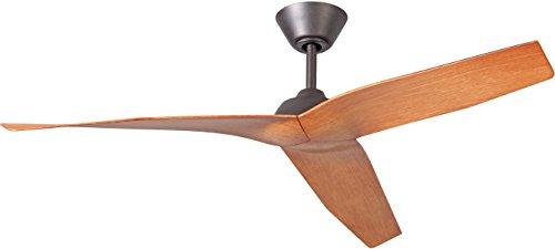 """Craftmade PIR48ESP3, Pireos Espresso Teak Wood 3-Blade 48"""""""