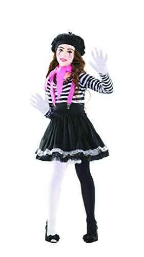 Mezmerizing Mime Child Costume -
