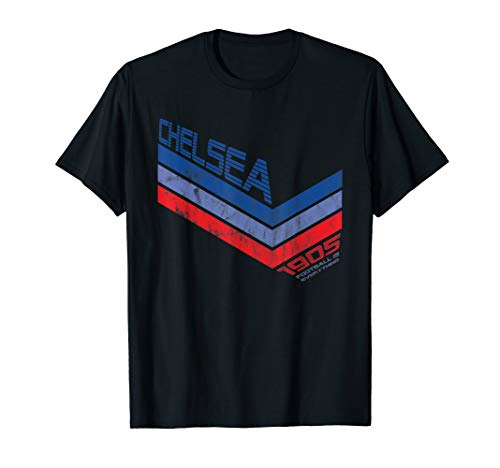 Football Is Everything - Chelsea 80s Retro T-Shirt (Chelsea Football Club Shirt)