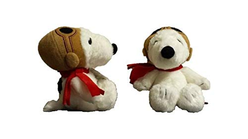 - Aurora World 7.5-Inch Peanuts Snoopy Pilot Soft Toy