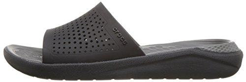 205183 Grey Ou 462 Femme Black Sport Adulte Slide De Chaussures Crocs homme Literide slate qBwEOWYp