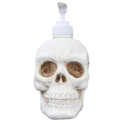 TOPBATHY 350ml Halloween Skull Soap Dispenser Bottles/Lotion-Soap Pump Bottles,Great for Essential Oils,Lotions,Liquid Soaps]()