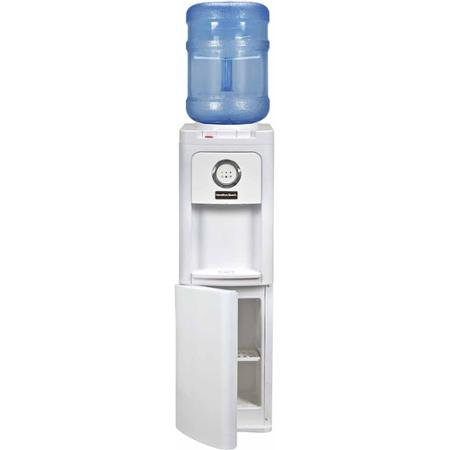 Hamilton Beach TL-1-5W Top Loading Water Dispenser with Storage Cabinet, Hot and Cold Temperatures, (Hot Water Dispenser Restaurant)
