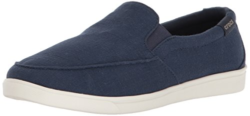 Crocs Women's Citilane Low Slipon W Sneaker, Navy, 9 M US by Crocs