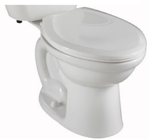 American Standard 4003800.020 Colony Fit Height Elongated Two Piece Toilet with Right Hand Trip Lever, White