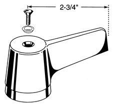 Delta 060809A Faucet Handle 2-3/4