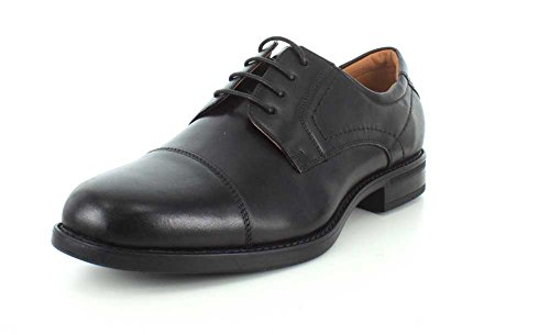 Florsheim Mens Midtown Cap Toe Oxford Nero