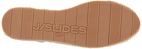 J Slides Jslides Dames Rally Fashion Sneaker Wit Leer