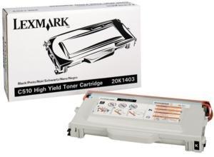 (Lexmark C510 Series High Yield Black Toner 10000 Yield - Genuine Orginal OEM toner)