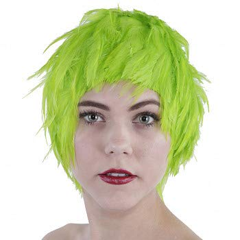 ZUCKER Colorful Crazy Party Wig - Natural