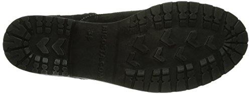 Ricosta Disera Mädchen Combat Boots Schwarz (schwarz 091)