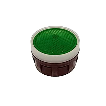 Acetal Pack of 6 No Washer 1.5 GPM Small Neoperl 10 6650 3 Perlator HC Economy Flow Small Aerator Insert Aerated Stream Green Dome Honeycomb Screen
