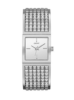 Dkny Womens Stainless Steel Bangle Watch (DKNY Bryant Park Stainless Steel Wide Bangle Women's watch #NY2230)