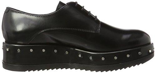 de Zapatos Nero Negro Civetta Cordones Tosca Derby Mujer para C99 BLU qRtnPAFwB