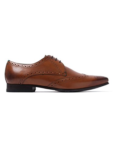 Ted Baker Albbin Derby Tan Leather Shoes