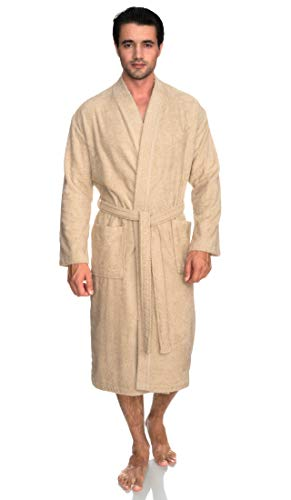 Big Lebowski Dude Costume (TowelSelections Men's Robe, Turkish Cotton Terry Kimono Bathrobe Medium/Large)
