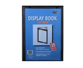 Tiger 20 portalistino A5 Display Book – nero Tiger Stationery 300930