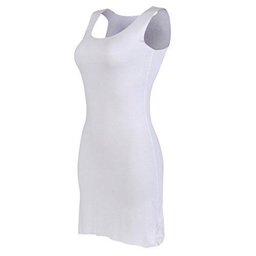 BEEY - Camiseta sin mangas - para mujer blanco