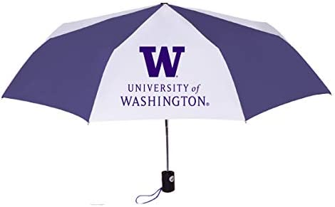 University of Washington Huskies Super Sport Folding Umbrella Gift Box Packaging