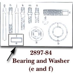 KD Tools (KDT2897-84) Bearing & Washer for KDT2897
