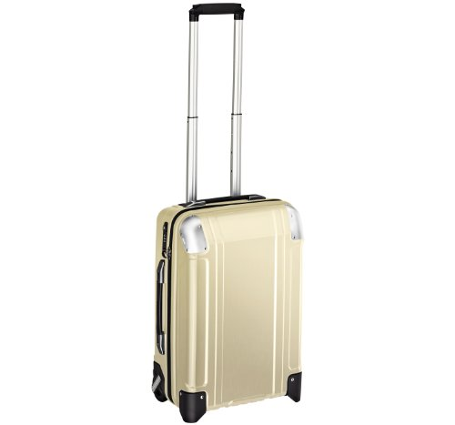 Zero Halliburton 2 Wheel - Zero Halliburton Geo Polycarbonate Carry On 2 Wheel Travel Case, Polished Gold, One Size
