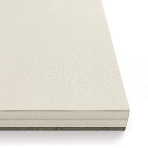 "ARTEZA 11x14"" Mixed Media Sketch Book, 2 Pack, 110lb/180gsm, 120 Sheets (Acid-Free, Micro-Perforated), Spiral-Bound Pad, Ideal for Wet and Dry Media, Sketching, Drawing, and Painting by ARTEZA (Image #3)"