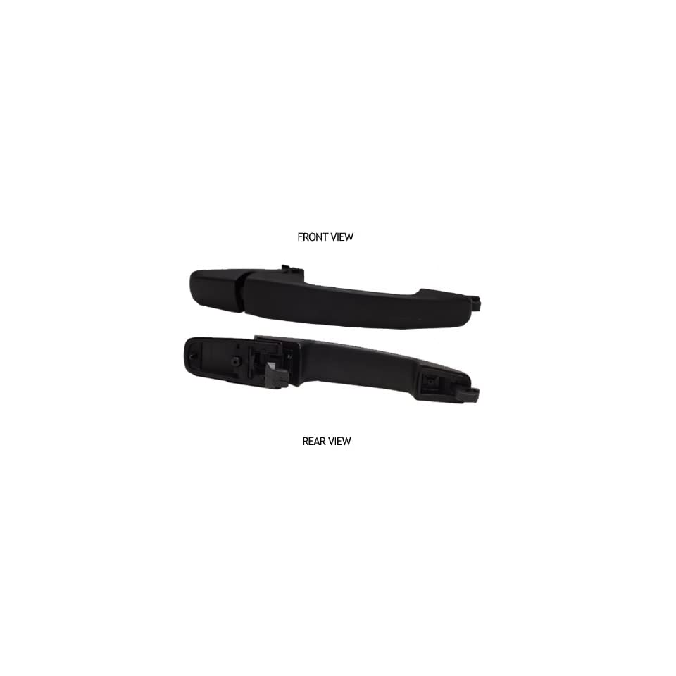 Ford Focus Black Outside Front/Rear Replacement Door Handle Driver & Passenger Side Replacement Door Handle